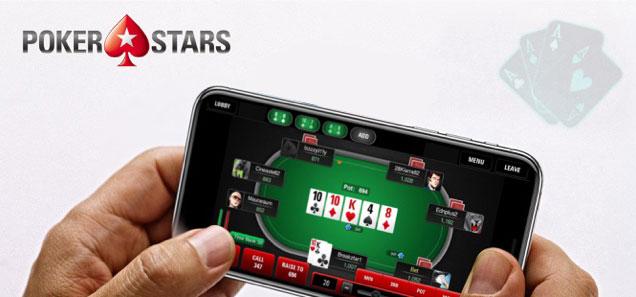 игра через приложение PokerStars